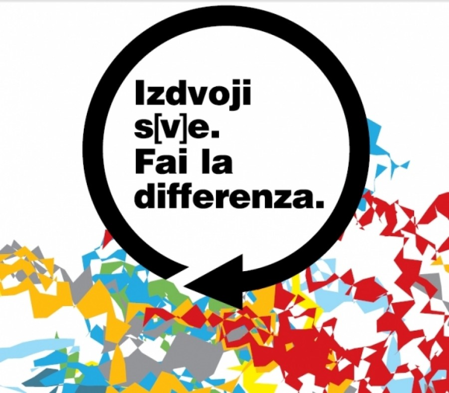 Izdvoji s(v)e. Fai la differenza.